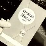 Owners Manual Sample