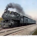 Royal Blue Trainset